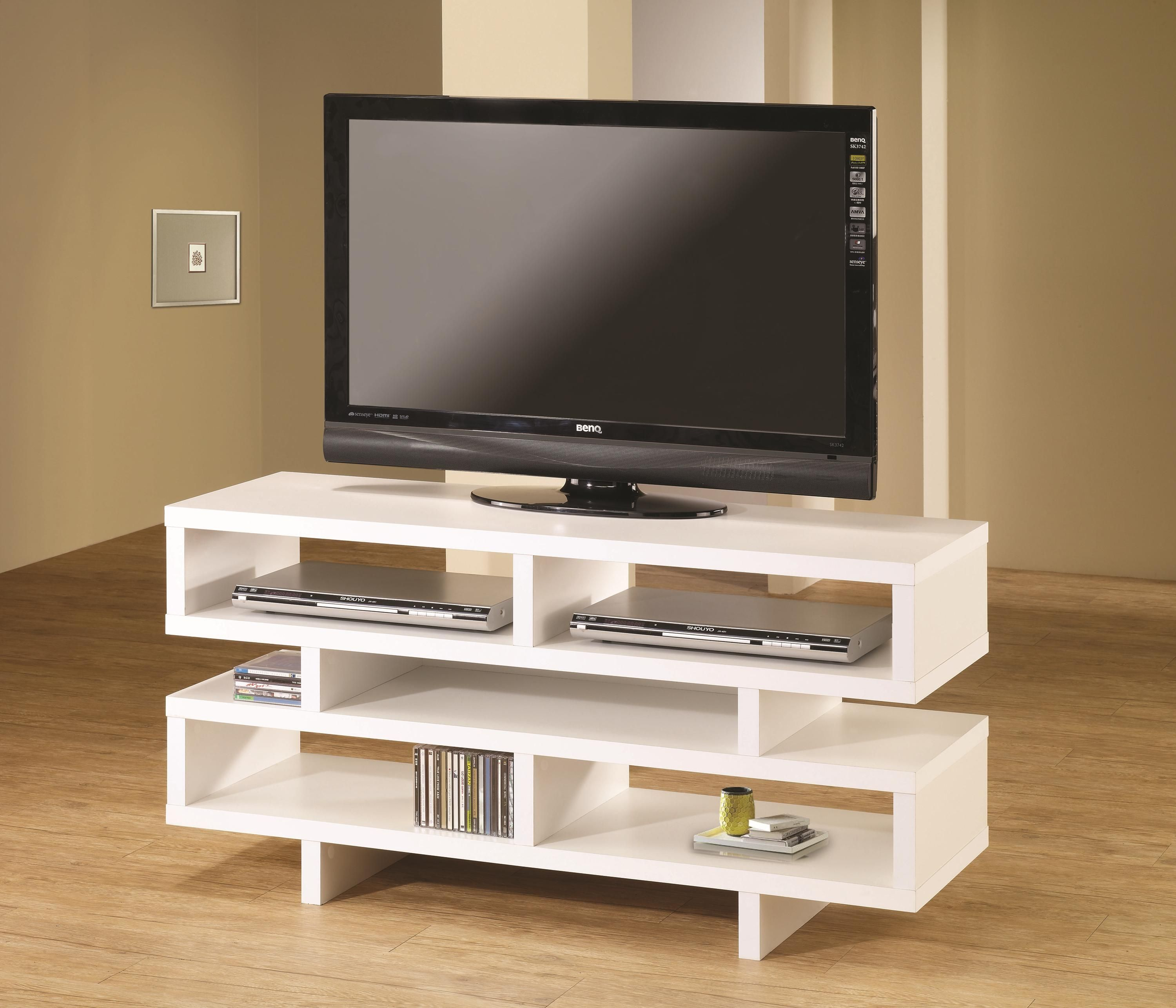 Tv Stands Tv Console By Coaster Home Entertainment Furniture  # Meuble Tv Ultra Fin
