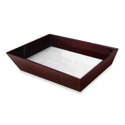 Buy Walden Polished Wood Decorative Vanity Tray From Bed Bath