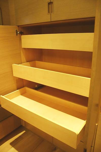 Diagnal Roll Out Bookshelves Roll Out Shelving Custom Kitchens Design Bathroom Cabinets Custom Cabinets