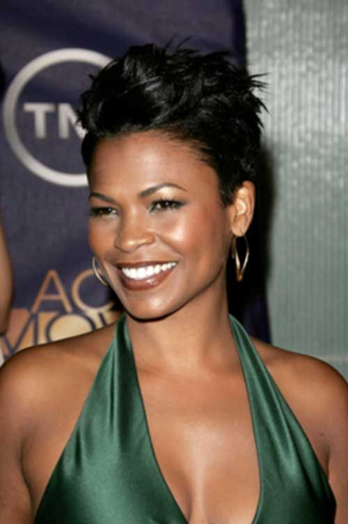 Get Pixie Nia Long Hairstyles Pics