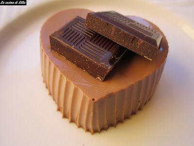 La cucina di Lilla (adessosimangia.blogspot.it): Dolci al cucchiaio: Panna cotta al cioccolato