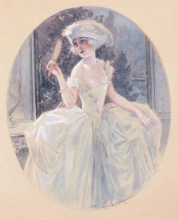 Иллюстратор Maurice Milliere (1871-1946)