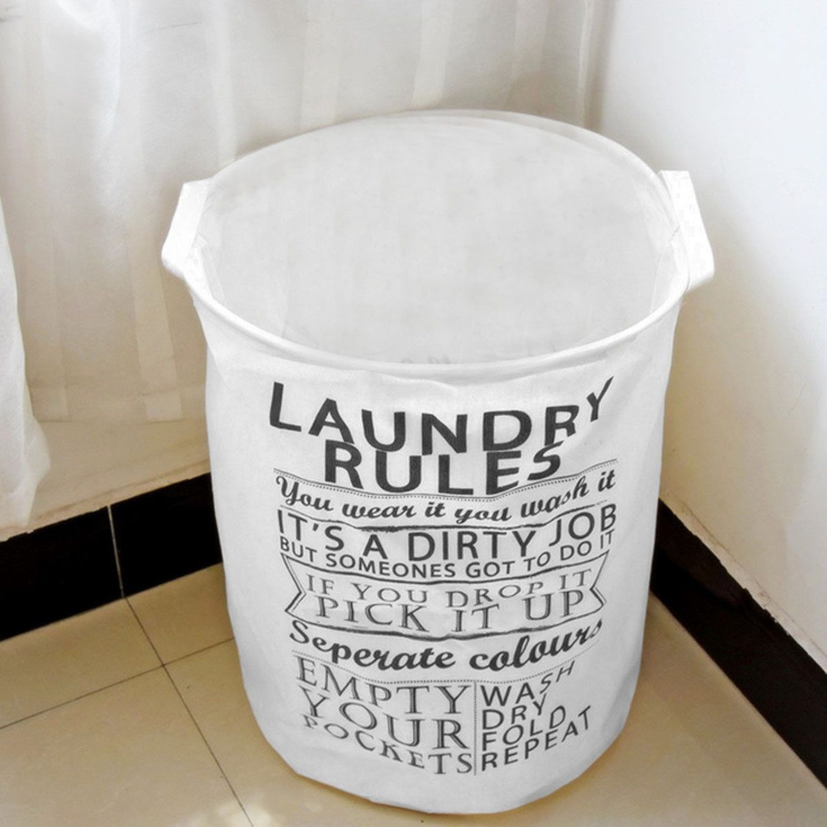 10 68 Aud Foldable Waterproof Linen Washing Clothes Laundry