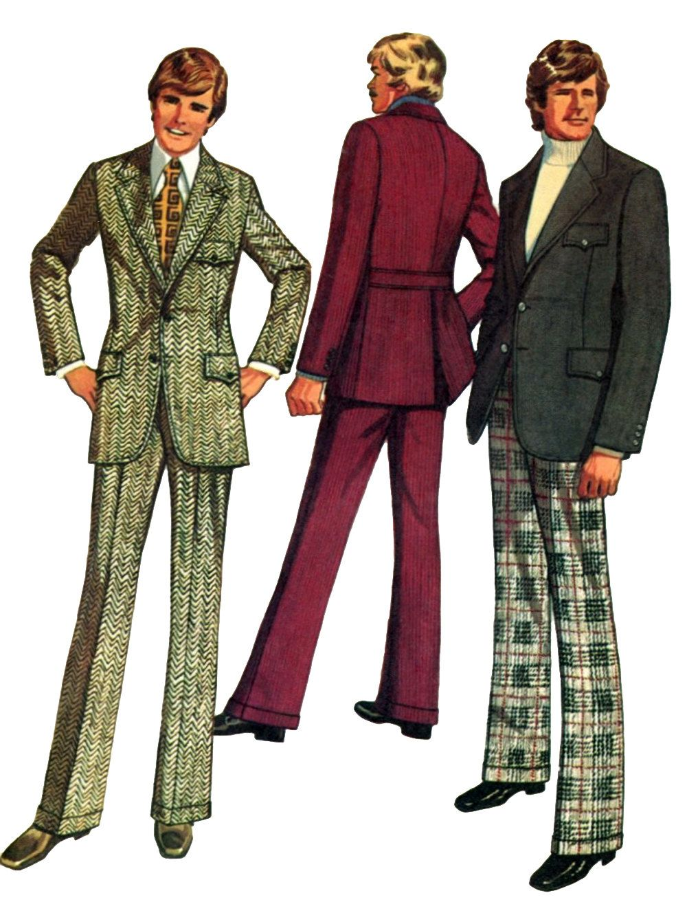 1970s mens fashion the style in mens suits muchado
