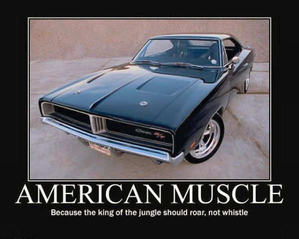 American Muscle Because The King Of The Jungle Should Roar Not