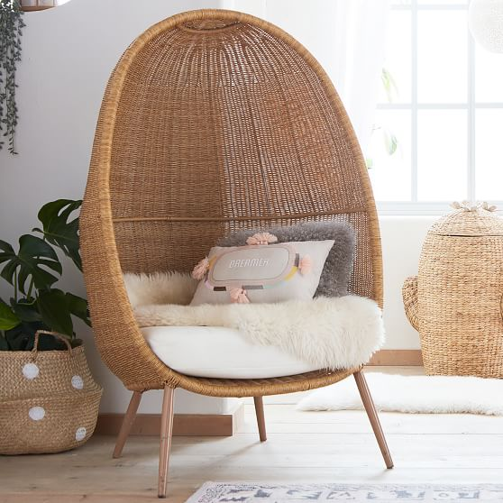 Woven Cave Chair | Lounge Chair | Pottery Barn Teen