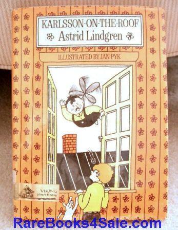 Karlsson On The Roof Astrid Lindgren Astrid Lindgren Vintage Children S Books Childrens Books