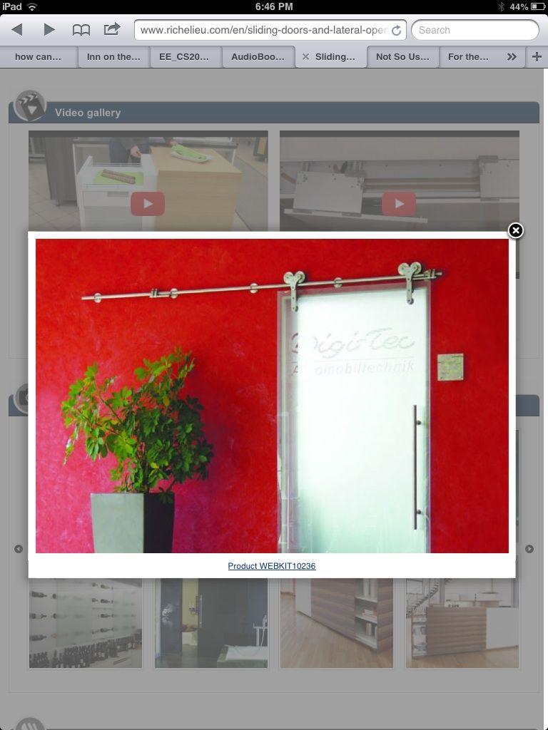 Richelieu barn doors | Bathroom medicine cabinet, Bathroom ...