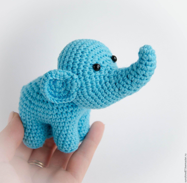 Вязаный слоник картинка