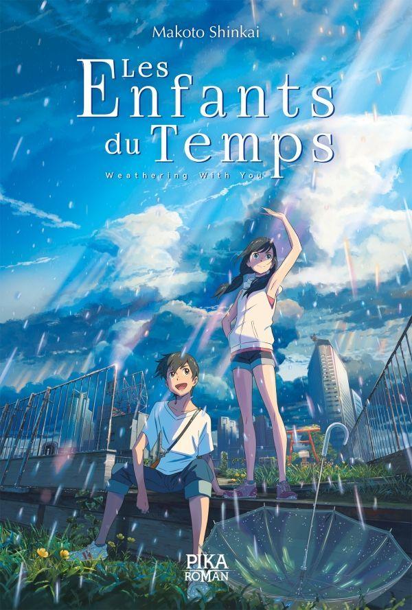 Le roman Les Enfants du Temps Weathering with you de