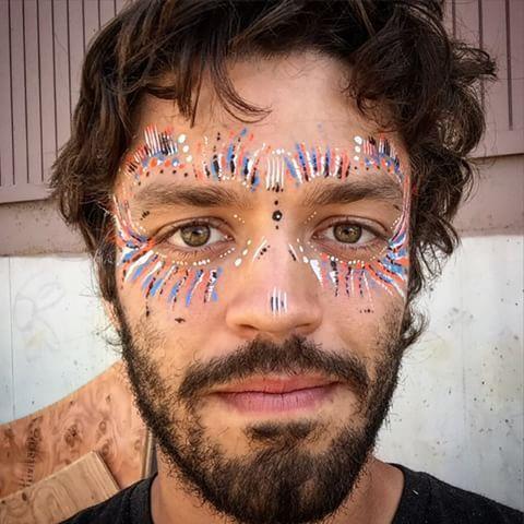 Mens Festival Face Paint Ideas Face Paint Ideas