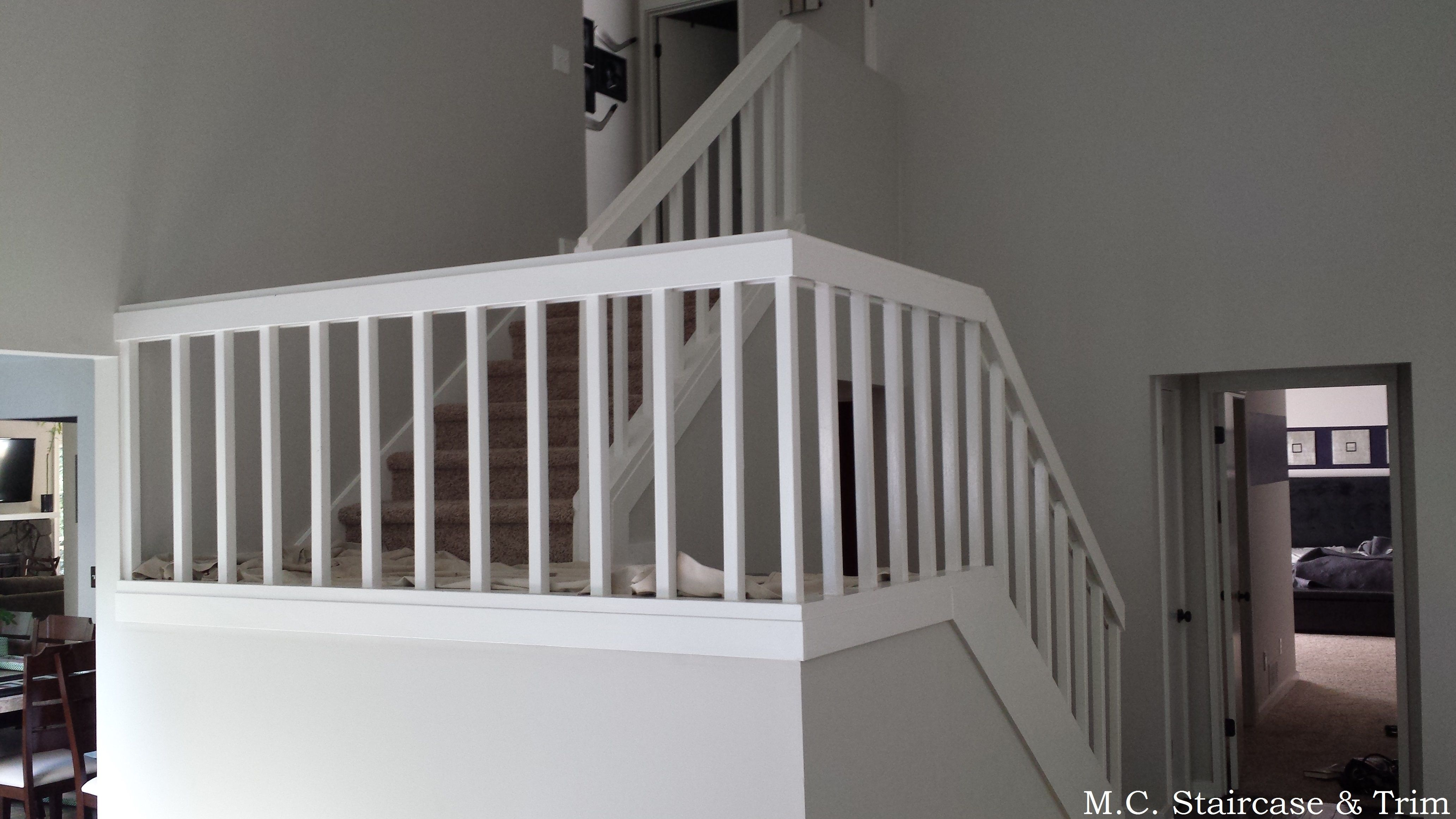Best Staircase Remodel From M C Staircase Trim Removal Of Carpet Wooden Railing And Wooden 400 x 300