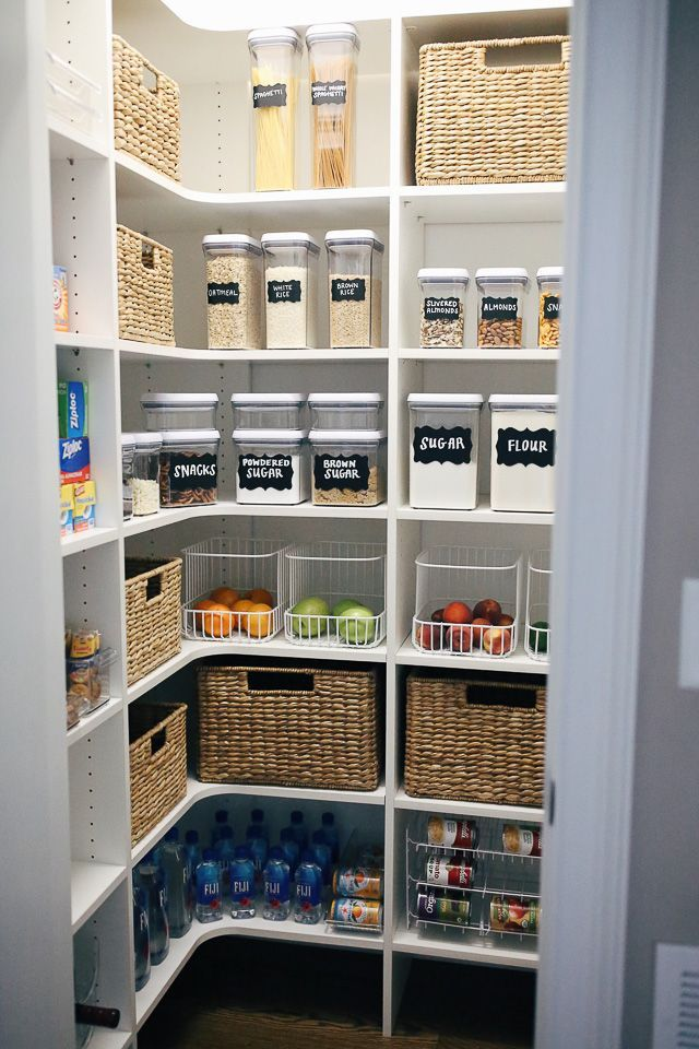 How I Organized My Pantry - #house #Organized #Pantry #pantryorganizationideas