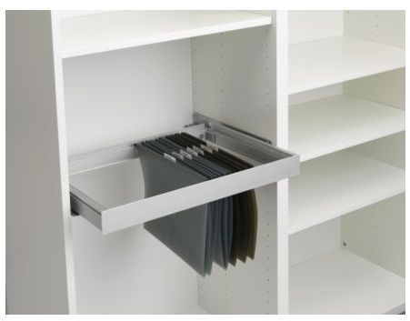Inreda pullout filing frame cupboard insert for Besta system with ...