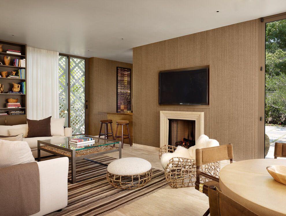 De 50 fotos de salas decoradas modernas peque as for Decoracion de salas pequenas