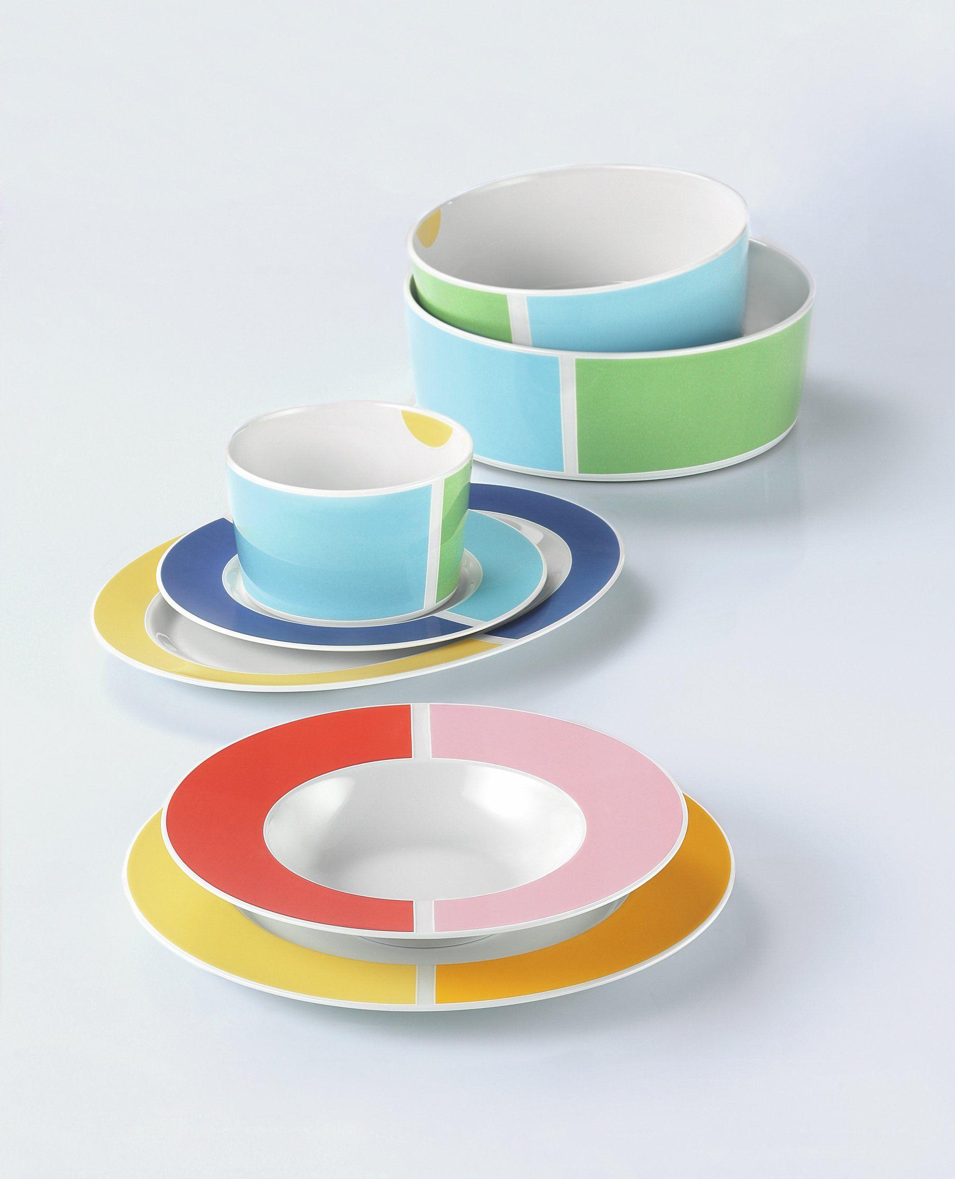dinner set 16 nl no limits colors 24599 by Seltmann Weiden: Amazon ...