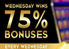 Casino Bonus Codes For Wednesday