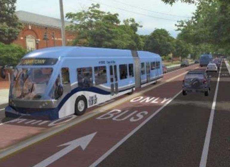 Bus rapid transit line would cost 38 rapid transit