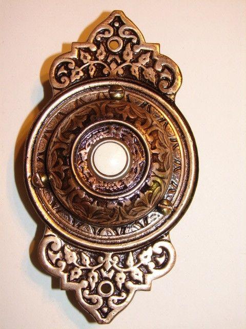 antique hardware door bells doorbells restoration old original period parts victorian & elec-door-bell-17   Door Bells Locks Knocks u0026 Pulls   Pinterest ... pezcame.com