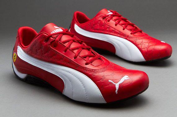 puma shoes ferrari. puma ferrari drift cat ii trainer - rosso corsa white shoes