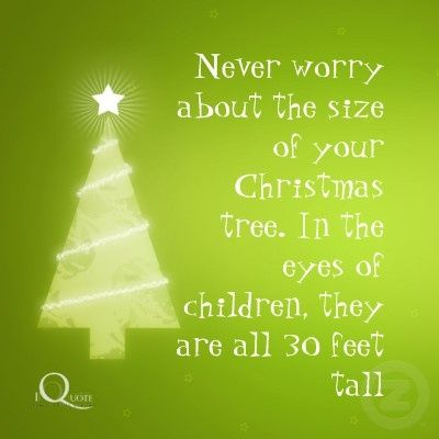 Never Worry Christmas Quote