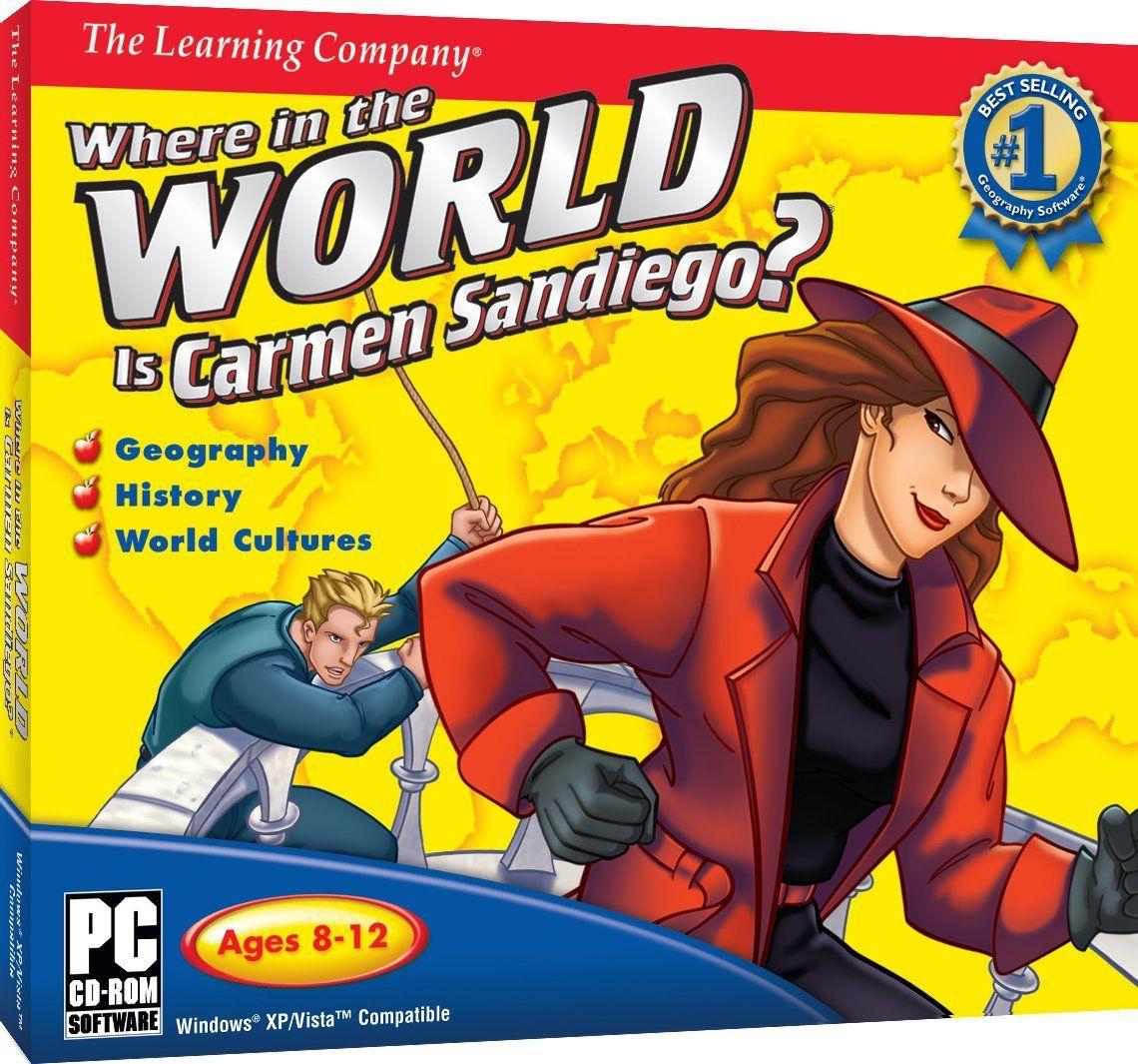 Carmen Sandiego In Computer Game Google Search Carmen Sandiego The Learning Company Carmen