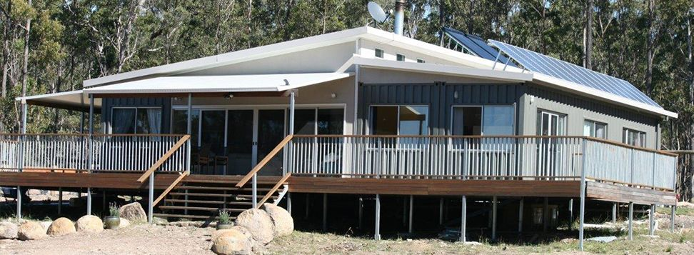 Sea Container Cabin australia's largest shipping container home, great as a giant