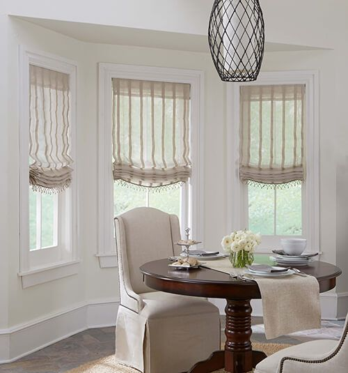 Boutique Roman Shades Patterns Roman Shades Living Room