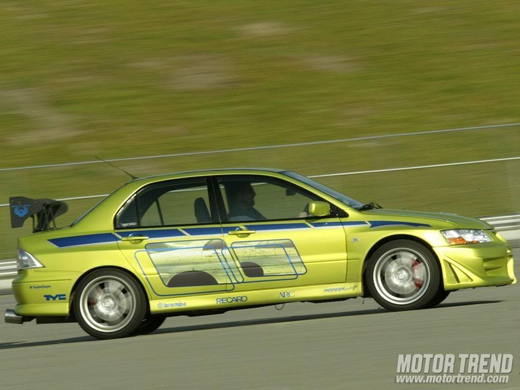Lancer Evo From 2 Fast 2 Furious Super Carros Carros Velozes E Furiosos Carros