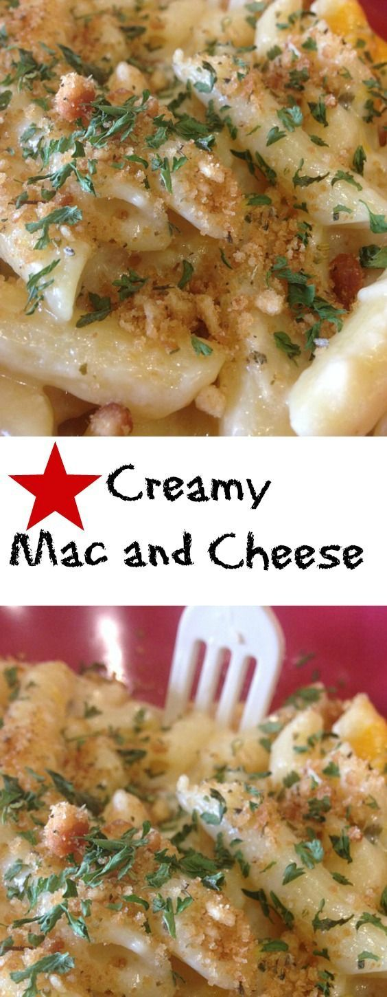 Creamy Mac and Cheese - The ultimate crowd pleasing food in the richest, creamiest sauce.