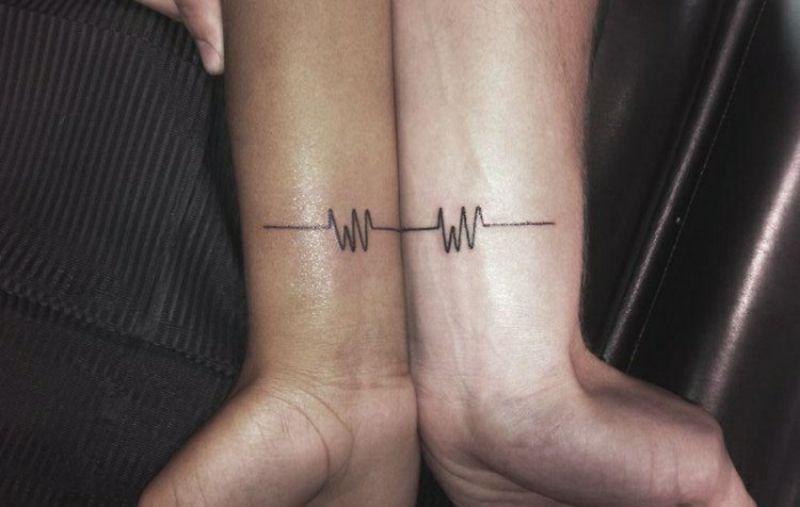 Partner Tattoos als Zeichen der Liebe - 21 herrliche Ideen