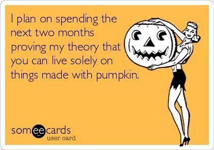 The Pumpkin Diet