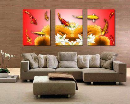lukisan yang cocok di ruang tamu menurut feng shui rumah