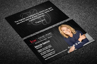 Keller williams business card templates free shipping online keller williams business cards keller williams card templates design online thick glossy full color business cards 100s of templates to choose from reheart Choice Image