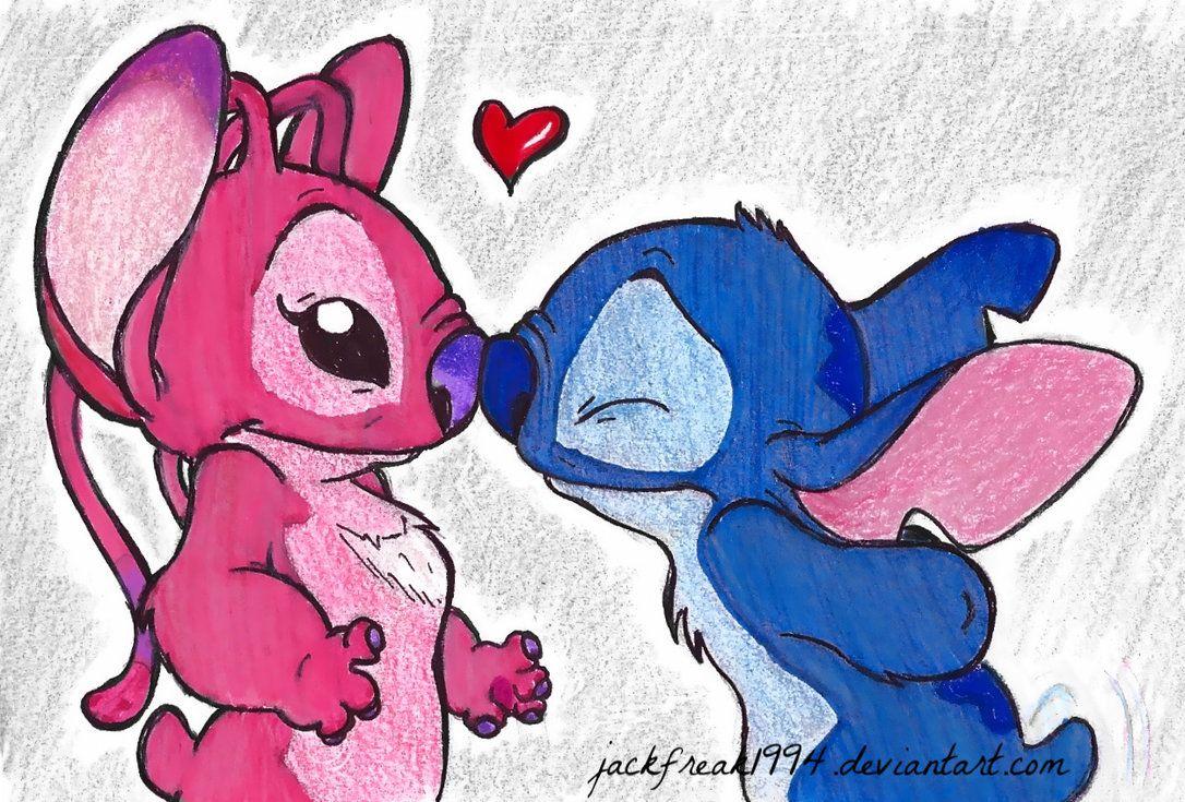 Resultado De Imagen Para Stitch Y Su Novia Dibujo De Stich