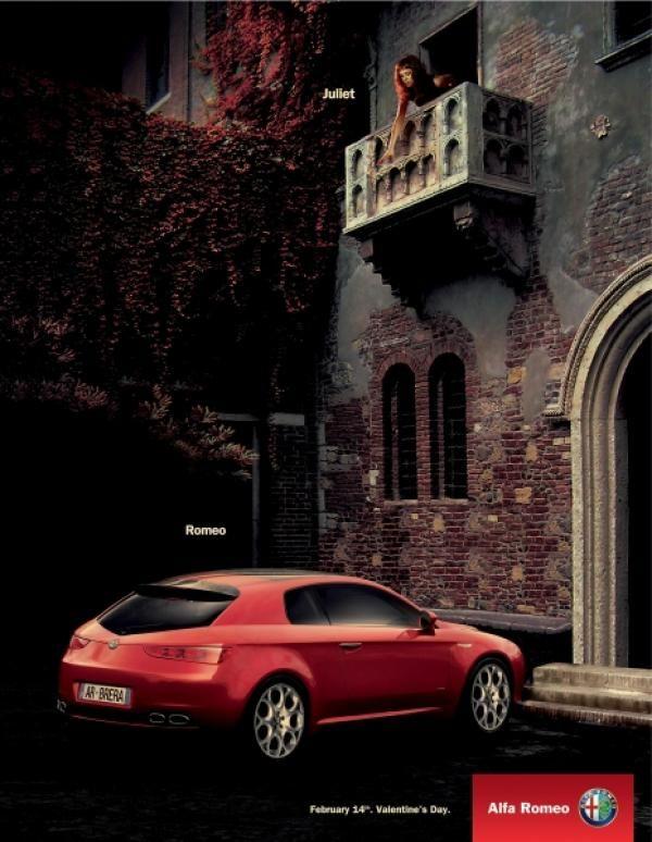 images of alfa romeo ads | romeo and juliet, y&r istanbul, alfa