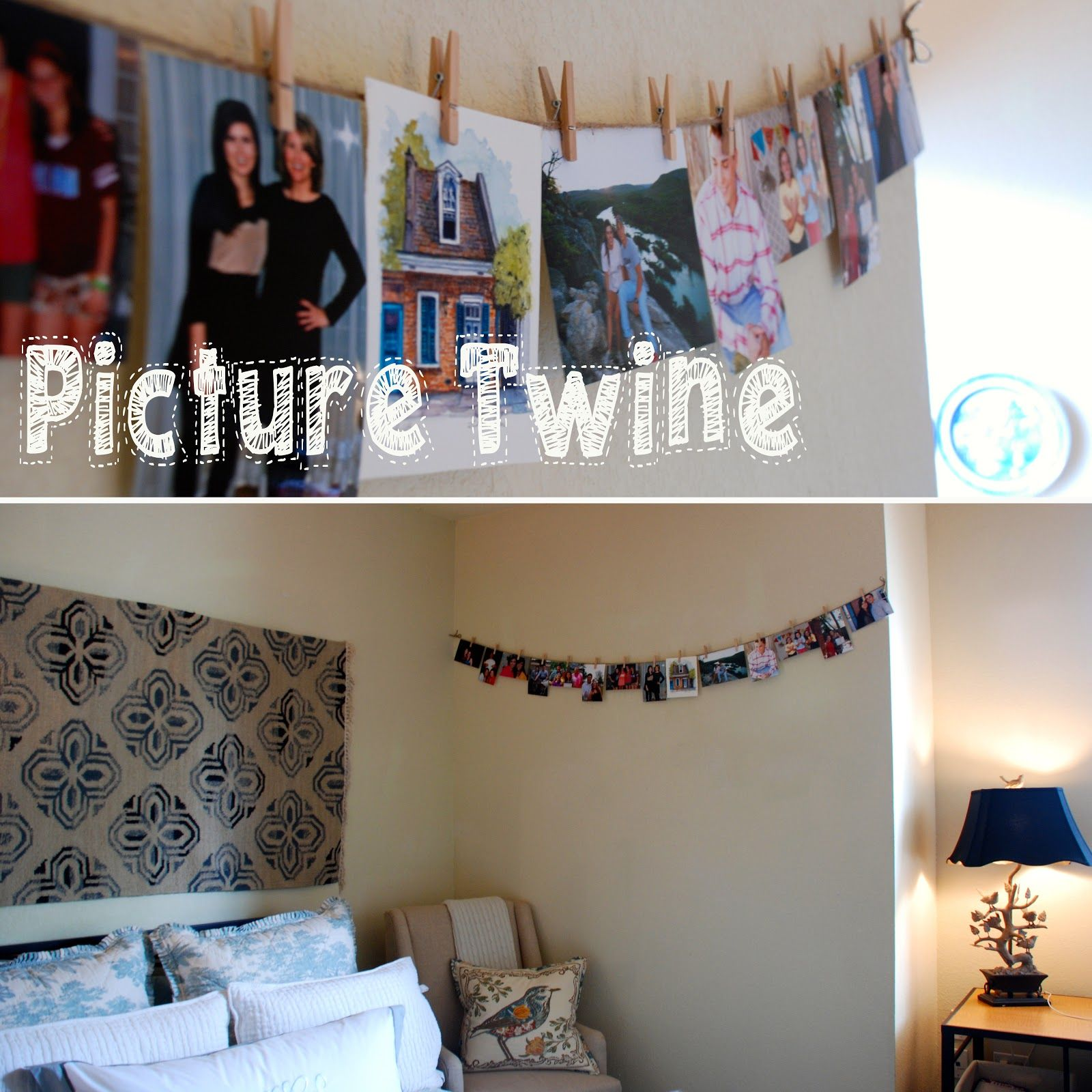 High Quality College Dorm Ideas For Girls   Picture Twin To Hang All Of Your Photos  Around The Room! Part 16