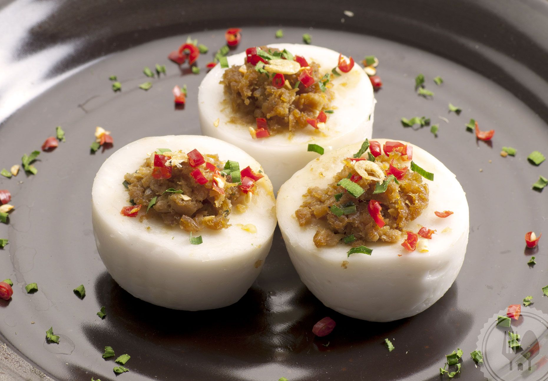 Kue Talam Ebi Sticky And Chewy Savory Delight Of Dried Shrimp And Coconut Milk Resep Resep Kue Makanan