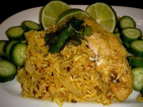 Mom's Khao Mok Kai (some call it Biryani), a recipe on Food52