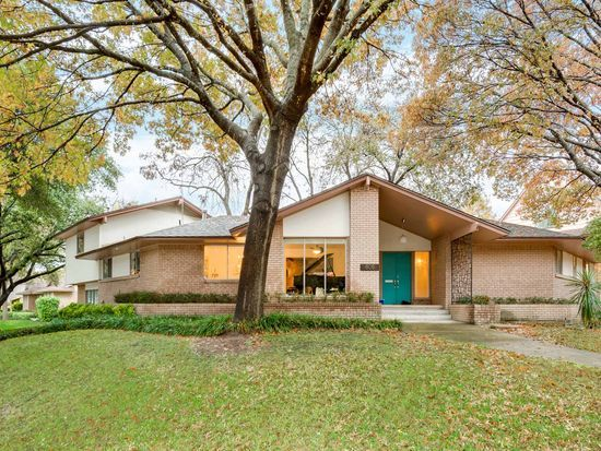 Mid Century Modern Homes In Dallas Texas Wood River