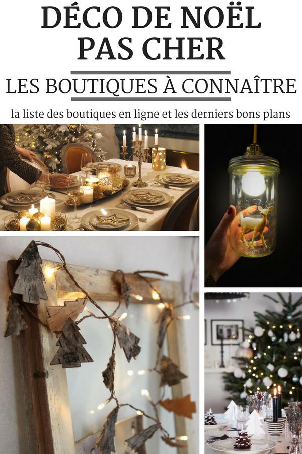 decoration de noel 2018 pas cher Où Trouver de la Déco de Noël Pas Cher : les Boutiques et les Bons  decoration de noel 2018 pas cher