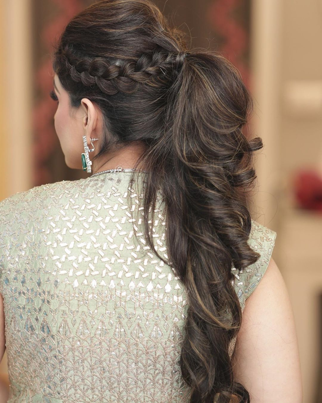 Trending: Puffy Ponytail Hairstyles That Indian Brides Are Getting Obsessed  With! in 2020 | Bridal ponytail, Ponytail hairstyles, Long hair wedding  styles