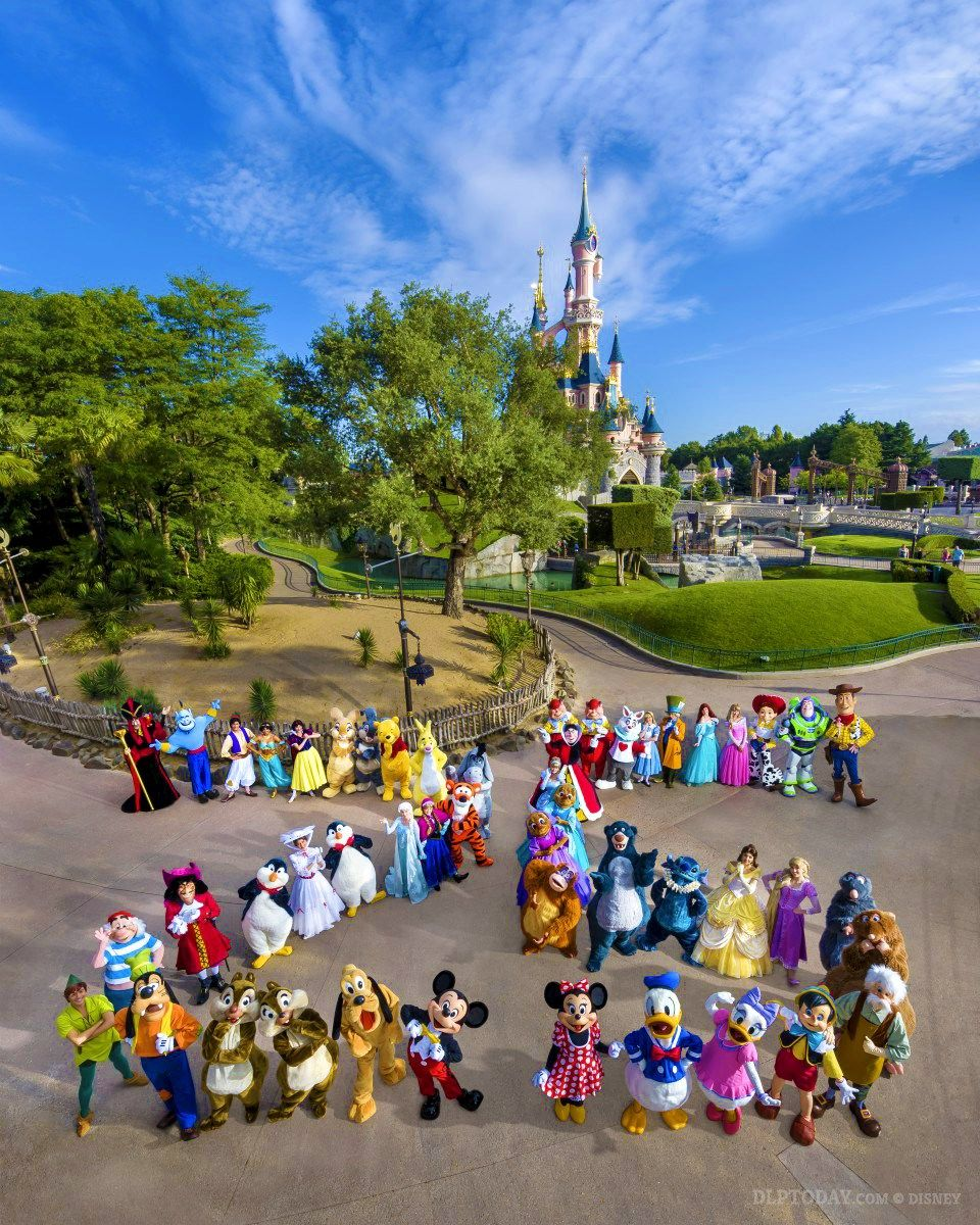 100 Day Countdown To Disneyland Paris Official 25th Anniversary