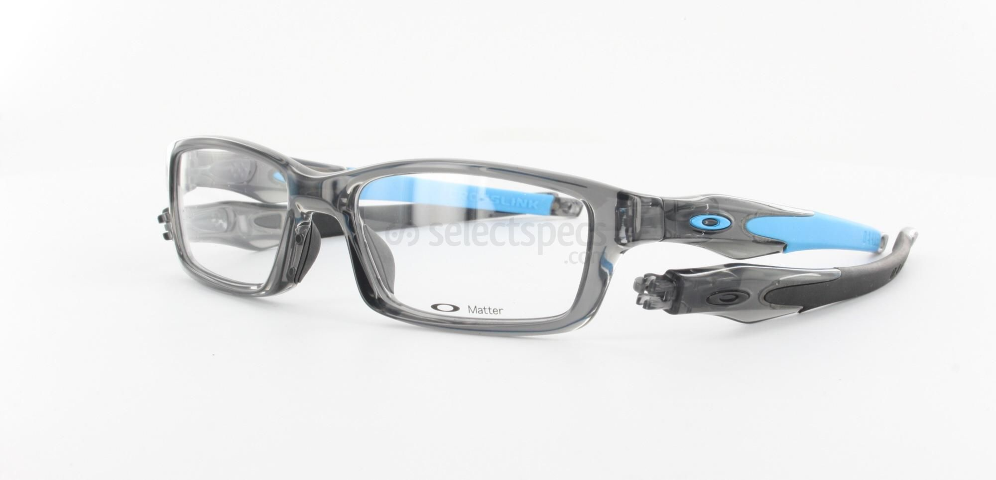 b3c553182b Oakley Crosslink now comes in transparent grey and Sky-Blue colour. Wicked.