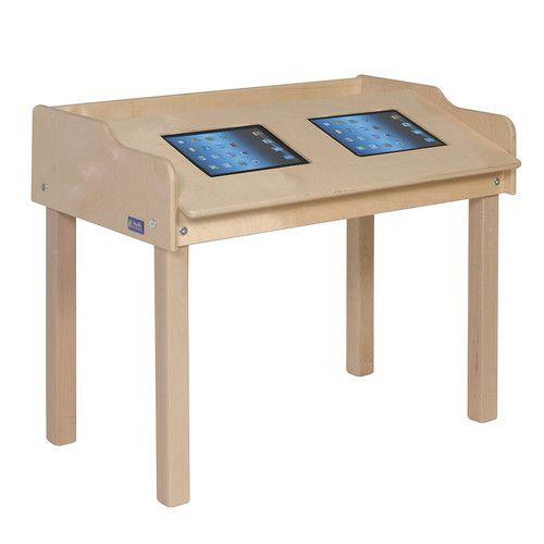 "Found it at Wayfair - 35"" x 21"" Rectangular Classroom Table"