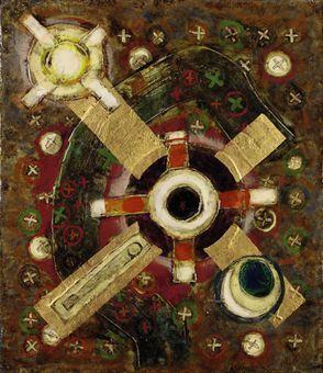 Leonard William French B 1928 The Universe Modern Art Artists