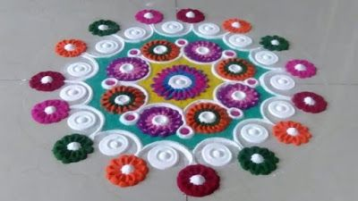 New Rangoli Design Images 2019