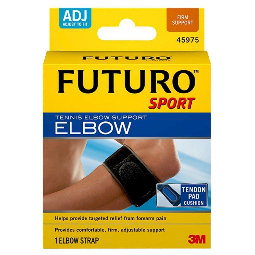 Futuro Tennis Elbow Support Strap Black Adjustable Tennis Elbow Support Tennis Elbow Tennis Elbow Strap