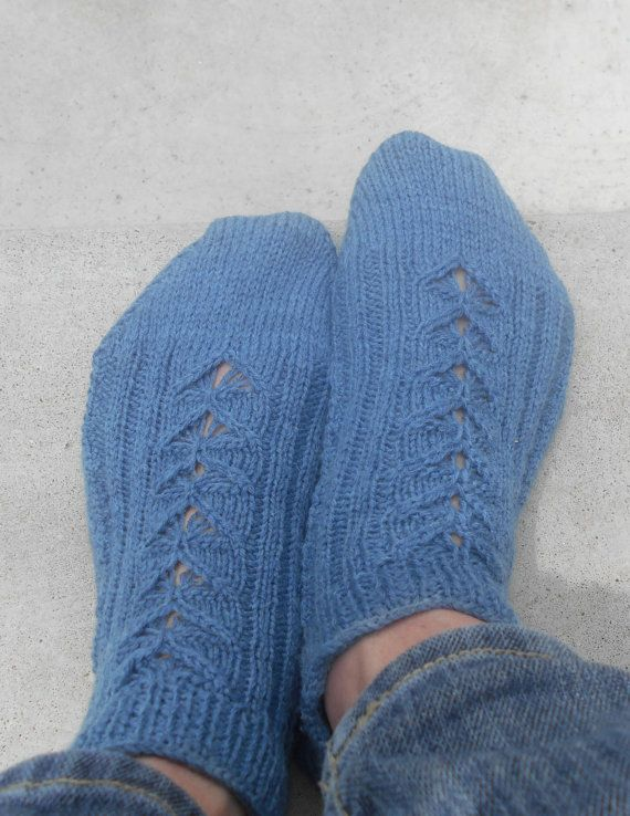 2 Needle Sweetheart Socklet by klymyshyndesign on Etsy, $3.00