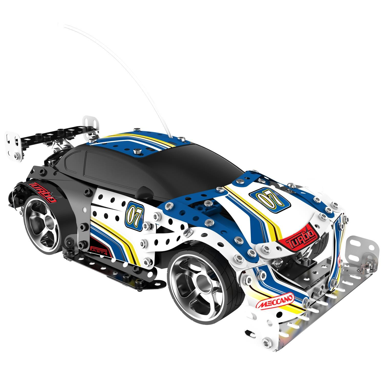 New Meccano Turbo Model 8351. Remote controlled rally car